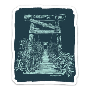 Pisgah Bridge Sticker