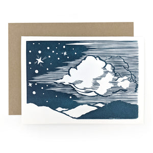 Clear Skies Note Card