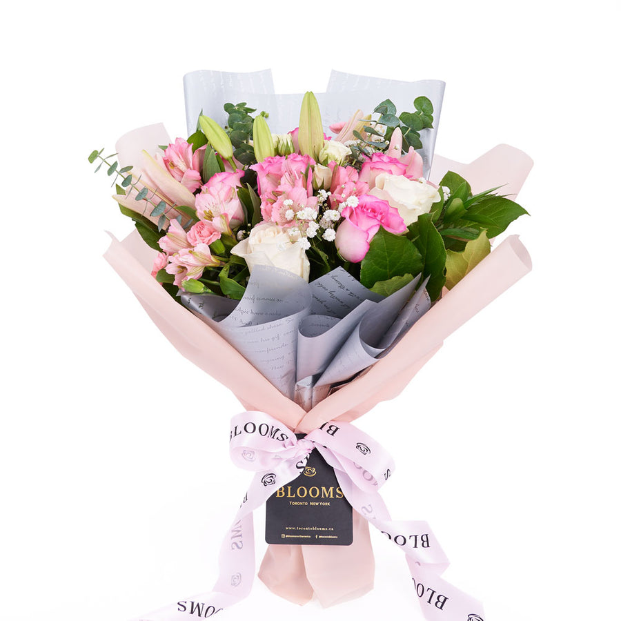 Pastel Dreams 12 Stem Mixed Rose Mother's Day Edition