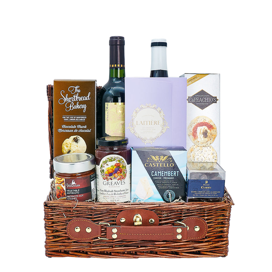 Ample Wine Gift Basket - Wine Set Gift - Toronto Delivery