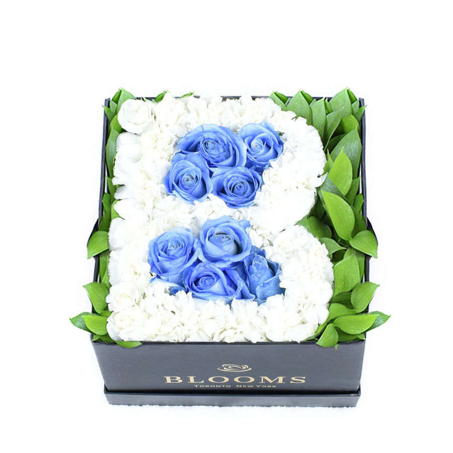 Welcome Baby Boy Flower Box