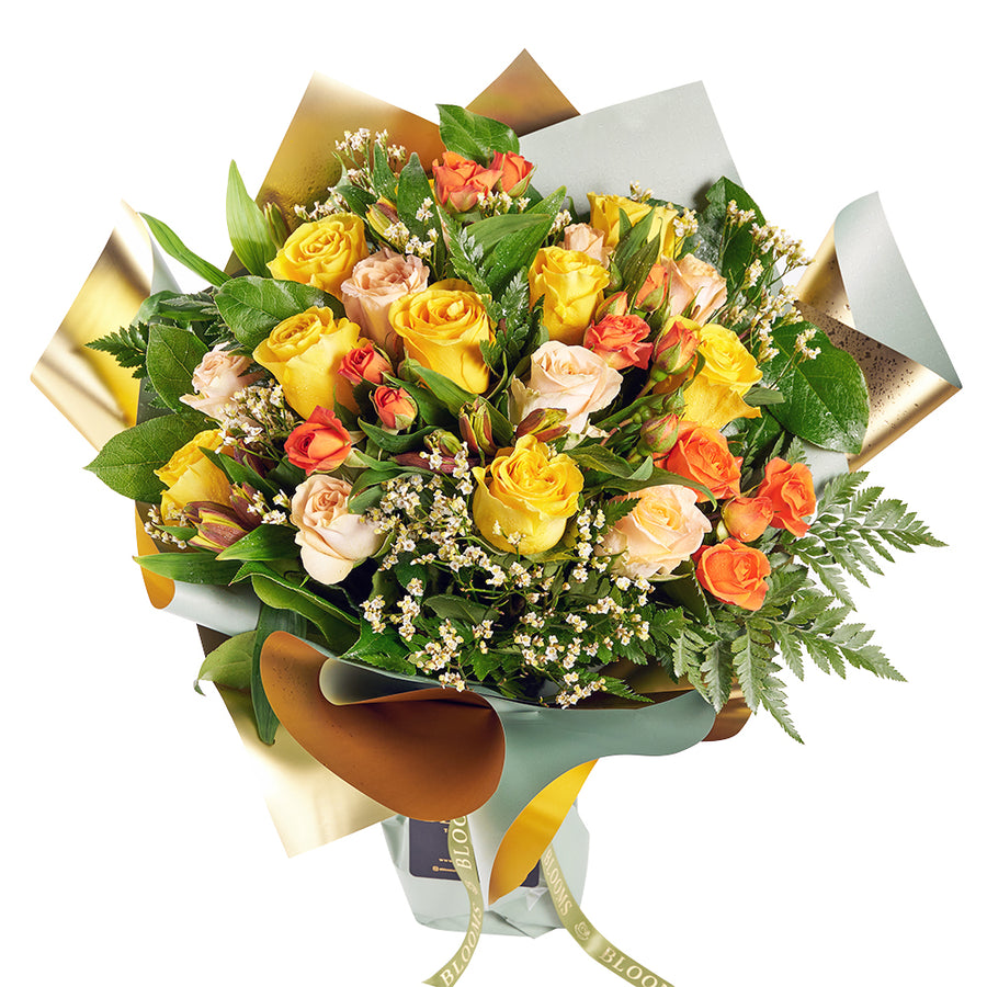 Toronto Same Day Flower Delivery - Toronto Flower Gifts - Mixed Rose Bouquet
