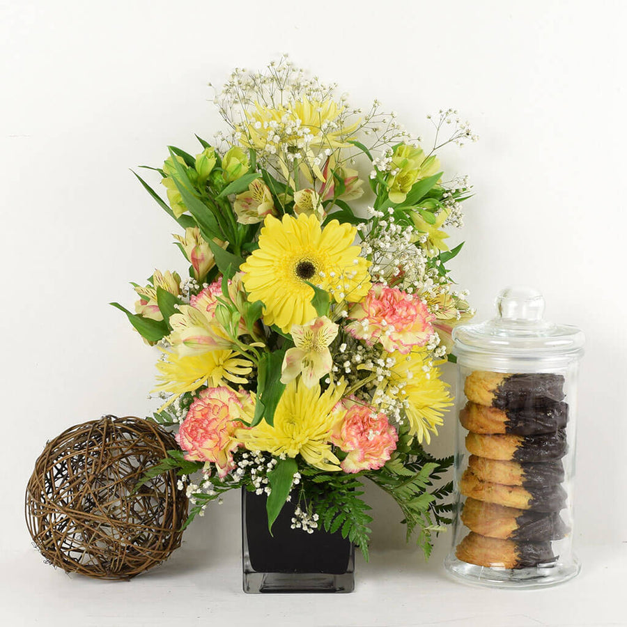 Blossoming Sunrise Mixed Bouquet Gift Set