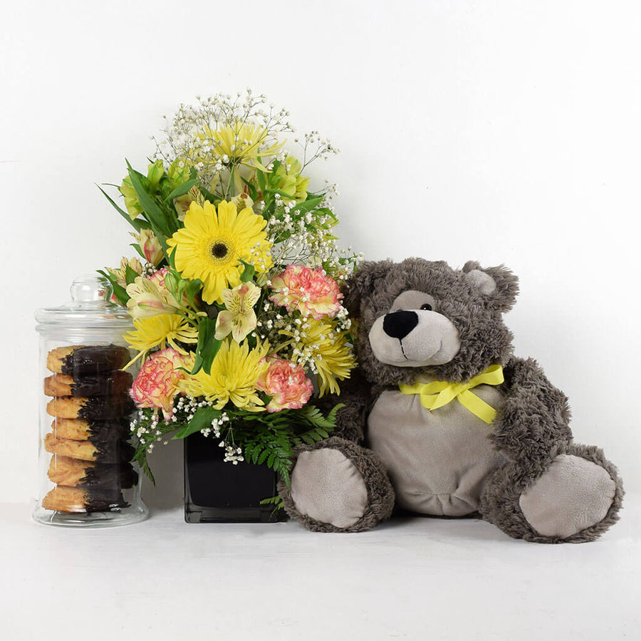 Sunrise Rush Mixed Floral Gift Set