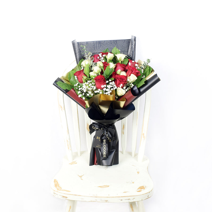 Toronto Same Day Flower Delivery - Toronto Flower Gifts - Rose Bouquet