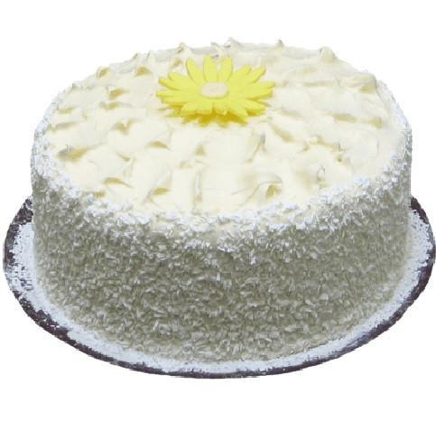 Lemon Coconut Layered Cake