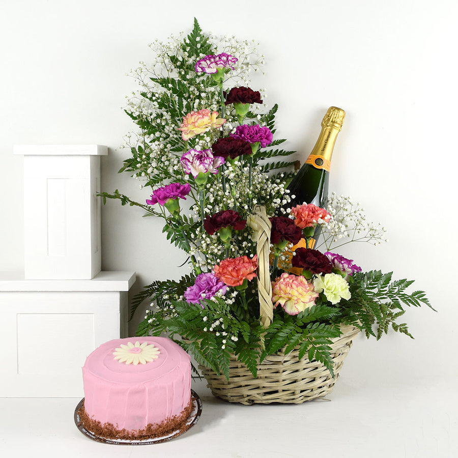 Moments of Joy Flowers & Champagne Gift