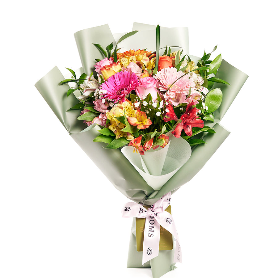 Parisian Brilliance Peruvian Lily Bouquet - Mix Floral Bouquet Gift - Same Day Toronto Delivery