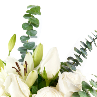 Pop of Joy Floral Centerpiece - Mix Floral Arrangement - Same Day Toronto Delivery