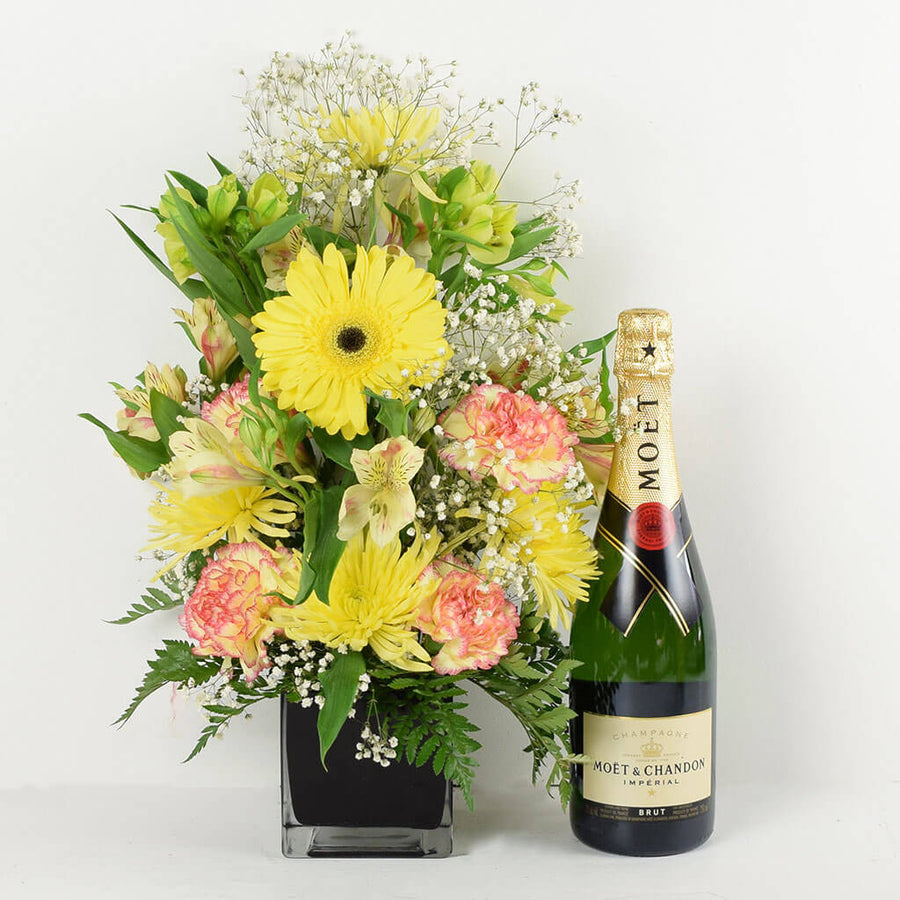 Pure Bliss Flowers & Champagne Gift