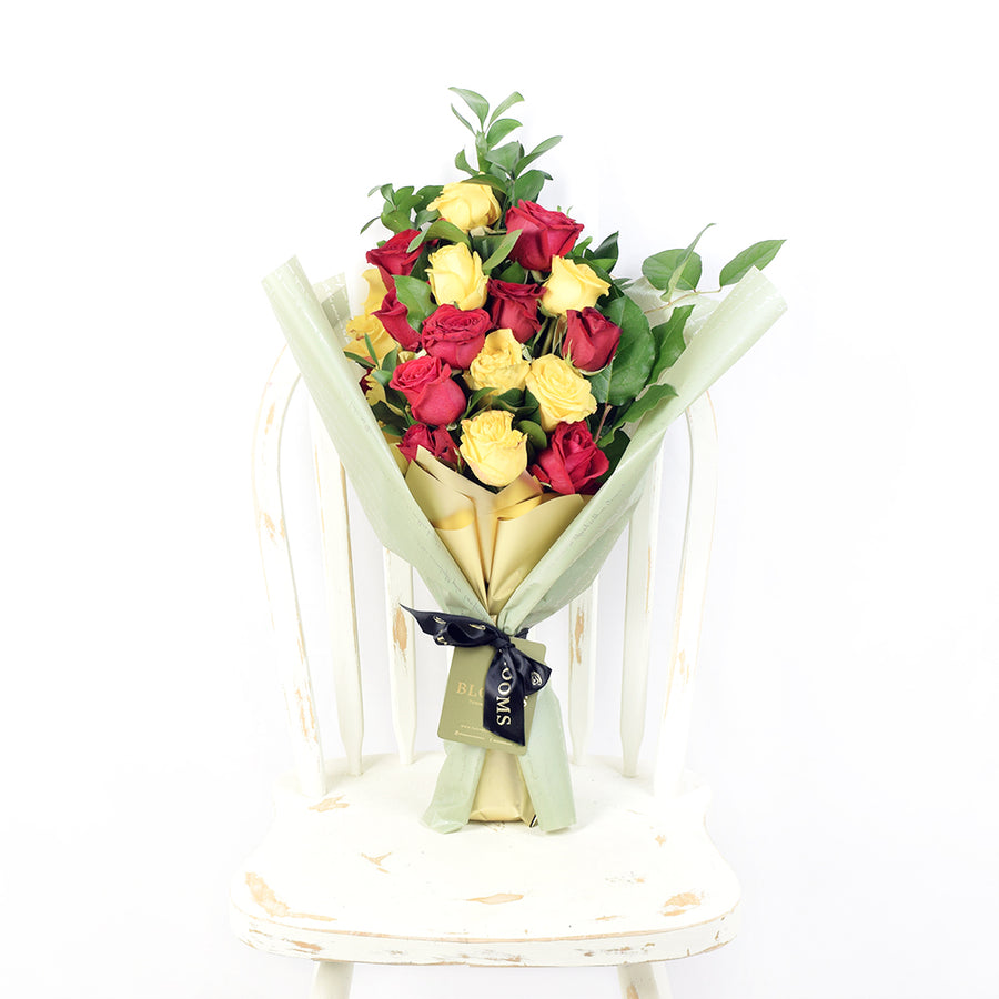 red & yellow Roses Toronto - Toronto Same Day Flower Delivery - Toronto Flower Gifts