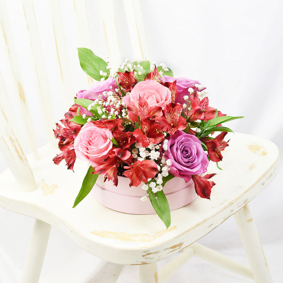 Soft Radiance Mixed Arrangement, floral gift baskets, gift baskets, flower bouquets, floral arrangement