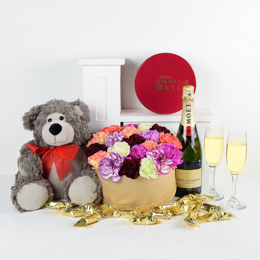 """You're Special To Me"" Flowers & Champagne Gift"
