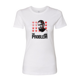 "Adrien Broner - ""The Problem"" (Red Stars) - Women's T-Shirt"