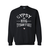 "Tyson Fury ""Gypsy King"" Crown Unisex Crewneck Sweatshirt"