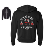 Tyson Fury - Flag Unisex Zip Up Hoodie