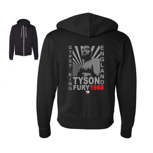 "Tyson Fury - ""Gypsy King"" Starburst Unisex Zip Up Hoodie"