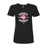 "Deontay Wilder ""Bronze Bomber"" Glove Women's T-Shirt"