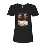 Pacquiao vs. Broner - Key Art Women's T-Shirt