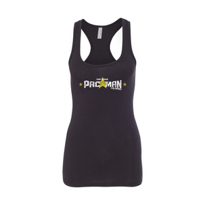 "Manny Pacquiao - ""Pac Man"" (Text) - Women's Racerback Tank Top"