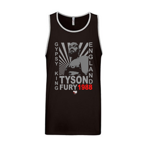 "Tyson Fury - ""Gypsy King"" Starburst Unisex Tank Top"