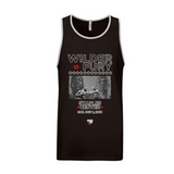 Wilder Vs. Fury - Stars Unisex Tank Top