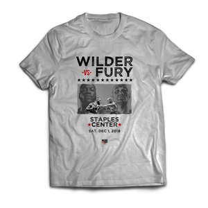Wilder Vs. Fury - Stars Unisex T-Shirt