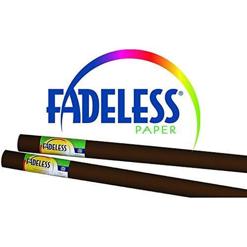 Fadeless Art Paper Roll Brown 3.6M