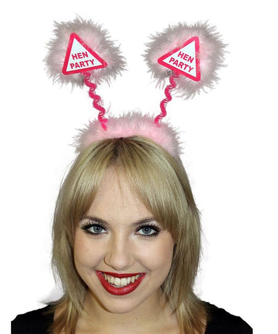 Hen Party Warning Sign Party Boppers