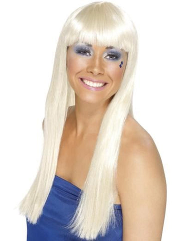 Smiffy's Blonde Dancing Queen Wig Lady Gaga New in Box