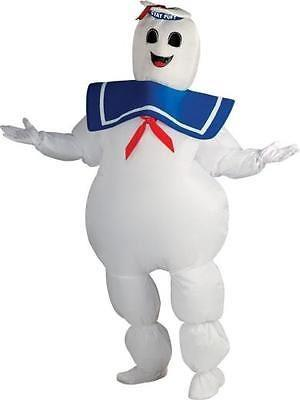 Adult Ghostbuster Stay Puft Marshmallow Man Mens Costume