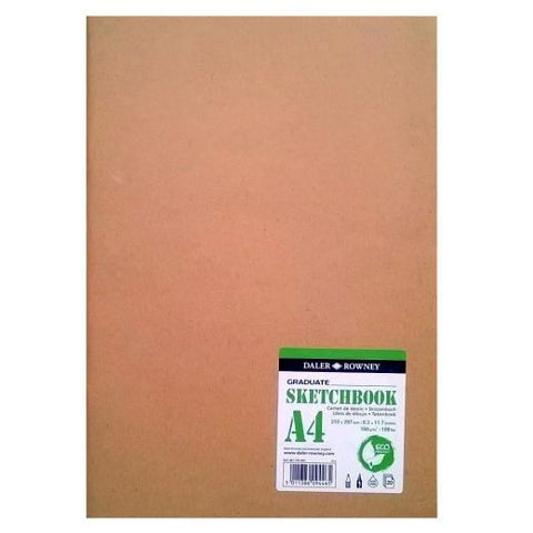 Daler-Rowney Eco Sketchbook A4 Soft Cover