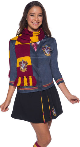 1.Harry Potter Gryffindor Deluxe Scarf Costume Accessory