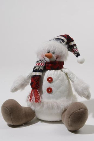 Pes Snowman Sitting with Hat