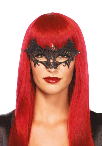 Leg Avenue Vampire bat Venetian lace applique eye mask