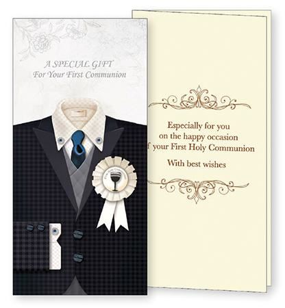 Communion Hand Crafted Gift Card/Bo