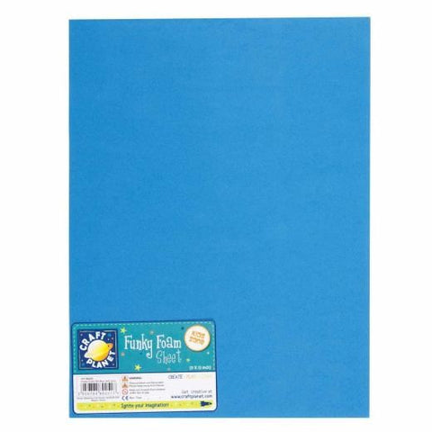 Funky Foam Sheet 9X12: BLUE