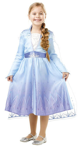 Child Elsa - Disney Frozen 2 - Travel Outfit Girls Costume