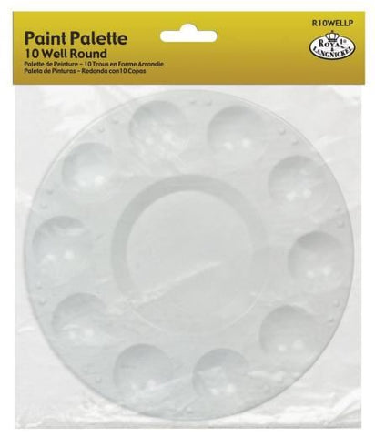 10 Well Plastic Palette