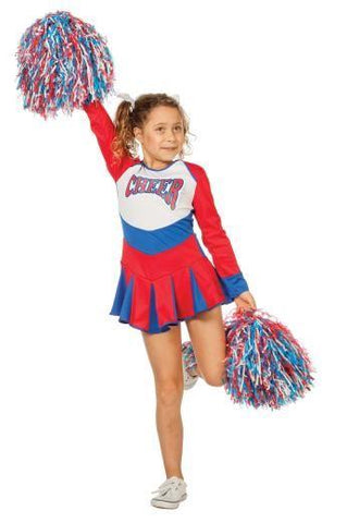 Child Cheerleader Girls Costume