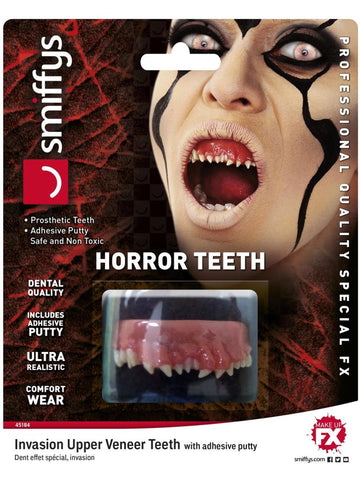 Invasion, Horror Teeth, Smiffys Make-Up FX