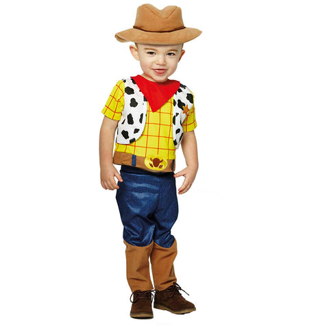 Child Disney Toy Story Woody with Hat Boys Costume