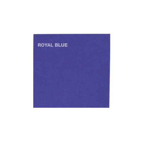 Canford Card A1: Royal Blue