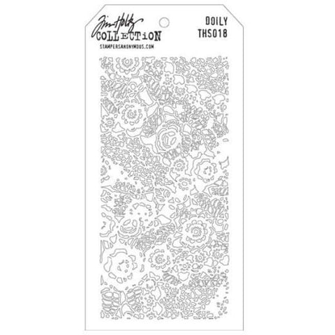 Tim Holtz Stencil Collection Doily