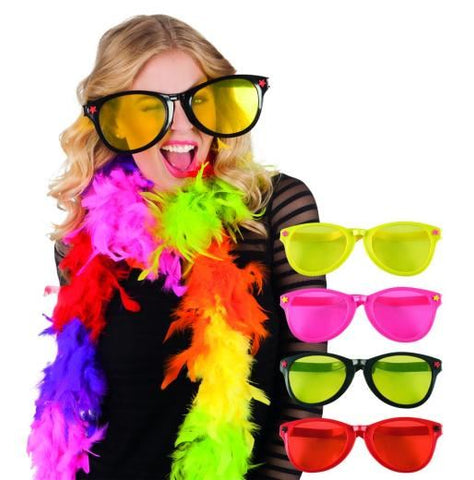 Jumbo Assorted Colour Party Specs: Black