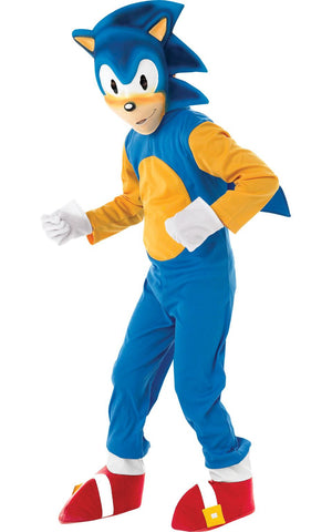 Child Sonic The Hedgehog Boys Costume