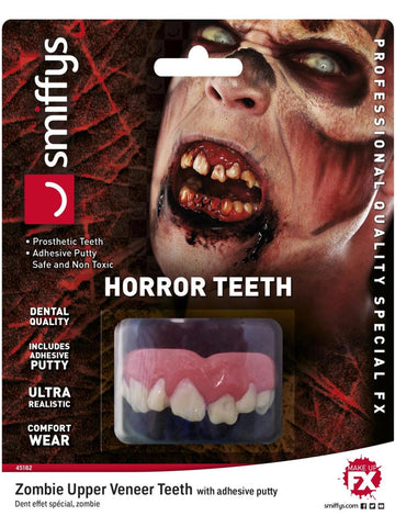 Zombie, Horror Teeth, Smiffys Make-Up FX