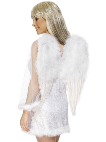 Angel Wings White Feather 50Cm