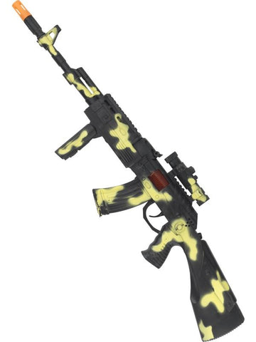 Peace Keepers Army Style Camouflage Gun