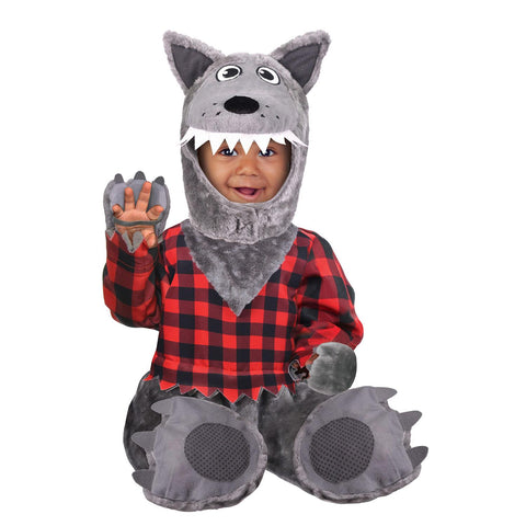 Child Baby Wolf Boys Costume
